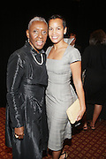l to r: Bethann Hardison and Erica Reid at ' The Celebrating Fashion ' A Gala Benefit to support the Gordon Parks Foundation held at Gotham Hall on June 2, 2009 in New York City. ..The Gordon Parks Foundation-- created to preserve the work of groundbreaking African American Photographer and honor others who have dedicated their lives to the Arts--presents the Gordon Parks Award to four Artists who embody the principals Parks championed in his life.