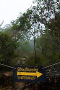 Alto Caparao_MG, Brasil...Placa no Parque Nacional do Caparao. Esse lugar faz parte da Rota Imperial...The sign in Caparao National Park. This place is the Imperial Route...Foto: BRUNO MAGALHAES / NITRO