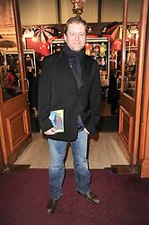 Jon Culshaw at the gala opening night of Cirque du Soleil's Varekai at the Royal Albert Hall, London on 5th January 2010.
