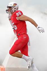 NORMAL, IL - September 08: Tylor Petkovich during 107th Mid-America Classic college football game between the ISU (Illinois State University) Redbirds and the Eastern Illinois Panthers on September 08 2018 at Hancock Stadium in Normal, IL. (Photo by Alan Look)