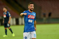 August 10, 2017 - Naples, Naples, Italy - Dries Mertens of SSC Napoli during the Pre-season Frendly match between SSC Napoli and RCD Espanyol at Stadio San Paolo Naples Italy on 10 August 2017. (Credit Image: © Franco Romano/NurPhoto via ZUMA Press)