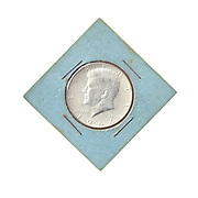Silver Kennedy Half Dollar 1964 collector's item
