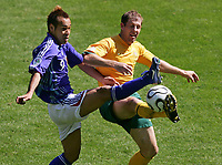 v.l. Naohiro Takahara, Scott Chipperfield<br />