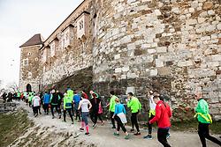 Priprave za Ljubljanski maraton 2019 v sodelovanju s sezanskim Malim kraskim maratonom, on March 9, 2019, in Ljubljanski grad, Ljubljana, Slovenia. Photo by Vid Ponikvar / Sportida