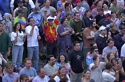 The Crowd Grooving inside the Show. The Dead in concert at Saratoga Performing Arts Center 20 June 2003