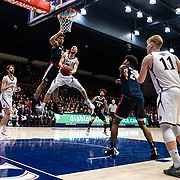 Mar 02, 2019 Moraga, CA  St. Mary's guard Jordan Ford (3) drives to the basket during the NCAA Men's Basketball game between the Gonzaga Bulldogs and the Saint Mary's Gaels 55-69 lost at McKeon Pavilion Moraga Calif. Thurman James / CSM