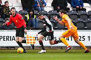 Paul McGinn of St Mirren on the ball during the Ladbrokes Scottish Premiership match between St Mirren and Livingston at the Simple Digital Arena, Paisley, Scotland on 2nd March 2019.
