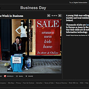 """Screengrab of """"Mismatch Skills in Ireland"""" published in The New York Times"""