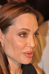 19.08.2011, Brijuni, CRO, Actress Angelina Jolie arrived to northen Adriatic archipelago of Brijuni as a guest of the actor Rade Serbedzija and the Ulysses theatre. Angelina watched the play King Lear directed by Lenka Udovicki, Serbedzija's wife. She arrived to Croatia on friday evening by her private plane. Famous actress and humanitarian was expected to arrive last year also, but because of the media pressure she cancelled the visit. Jolie also met with Croatian president Ivo Josipovic with whom she talked about the problem of landmines. EXPA Pictures © 2011, PhotoCredit: EXPA/ nph/ Pixsell +++++ ATTENTION - OUT OF GERMANY/(GER), CROATIA/(CRO), BELGIAN/(BEL) +++++