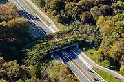 Nederland, Utrecht, Zeist, 28-10-2014; ecoduct Sterrenberg (v/h Huis ter Heide), N237.<br /> Ecoduct.<br /> luchtfoto (toeslag op standard tarieven); aerial photo (additional fee required); copyright foto/photo Siebe Swart