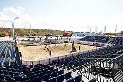 20150828 NED: NK Beachvolleybal 2015, Scheveningen<br />Kwalificaties NK Beachvolleybal 2015, overview centre court