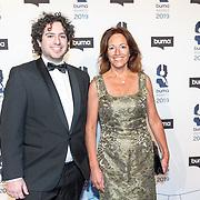 NLD/Hilversum/20190311  - Uitreiking Buma Awards 2019, Paula Patricio en zoon Miro Temming