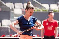 Romanian Simona Halep during Mutua Madrid Open Tennis 2017 at Caja Magica in Madrid, May 09, 2017. Spain.<br /> (ALTERPHOTOS/BorjaB.Hojas)