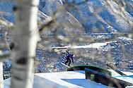 Judd Henkes during Men's Snowboard Slopestyle Finals at 2021 X Games Aspen in Aspen, CO. ©Brett Wilhelm/ESPN