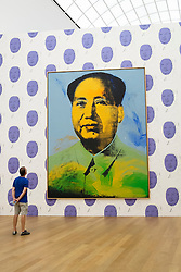 Portrait of Mao by Andy Warhol at Hamburger Bahnhof Art Museum in Berlin Germany