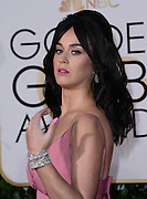 KATY PERRY @ the 73rd Annual Golden Globe awards held @ the Beverly Hilton hotel.<br /> ©Exclusivepix Media