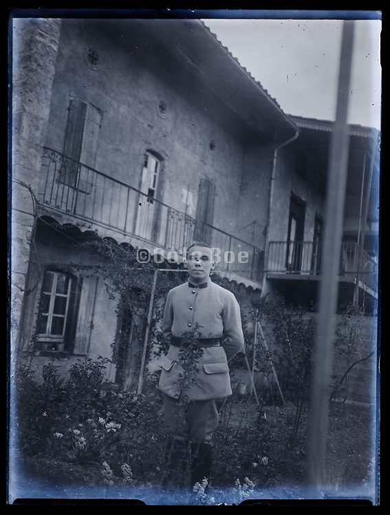 young soldier France 1933