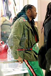 2 Chainz spotted at a boutique in Milan. 12 Jan 2018 Pictured: 2 Chainz spotted at Gucci boutique in Milan. Photo credit: MEGA TheMegaAgency.com +1 888 505 6342