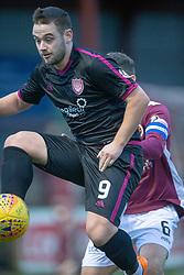 Arbroath's Ryan Wallace. Stenhousemuir 1 v 4 Arbroath, Scottish Football League Division One play12/1/2019 at Ochilview Park.