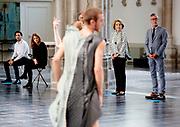 ARNHEM, 17-09-2020 <br /> <br /> Prinses Margriet  in de Eusebiuskerk in Arnhem tijdens de wereldpremière bij van de voorstelling 'sustained resonance' van Introdans. Het is voor het dansgezelschap de eerste live voorstelling voor publiek sinds de corona-uitbraak. Prinses Margriet is beschermvrouwe van Introdans.