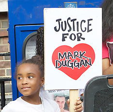 Mark Duggan Vigil 4th August 2017