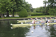Henley, Great Britain.  Henley Royal Regatta. M8+, Grand Challenge Cup, Australian Institute of Sport 'A', AUS [Bucks], and Molesey Boat Club and Leander Boat Club [Berks], GBR, power away from the Start, in their Semi-Final. Crew - Molesey Boat Club and Leander Club: Alex Partridge [bow], James FOAD, Cameron NICHOL. River Thames Henley Reach.  Royal Regatta. River Thames Henley Reach.  Saturday  02/07/2011  [Mandatory Credit  Intersport Images] . HRR