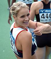 Friidrett<br /> Junior-VM 2006<br /> Beijing Kina<br /> 17.08.2006<br /> Foto: Hasse Sjøgren, Digitalsport<br /> <br /> Christina Vukicevic
