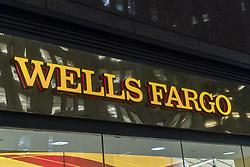 November 20, 2018 - New York, NY, USA - Una sucursal bancaria de Wells Fargo en Nueva York el 5 de enero de 2018. (Credit Image: © Richard B. Levine/Sipa Usa/TNS via ZUMA Wire)