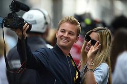 May 11, 2019 - Monaco, Monaco - Nico Rosberg guest during the 3rd edition of Monaco E-Prix, in port neighborhood in Monaco, France  (Credit Image: © Andrea Diodato/NurPhoto via ZUMA Press)