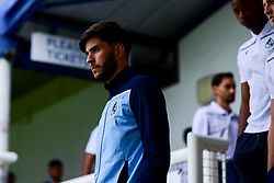 Cian Harries of Bristol Rovers prior to kick off - Mandatory by-line: Ryan Hiscott/JMP - 28/08/2020 - FOOTBALL - Memorial Stadium - Bristol, England - Bristol Rovers v Cardiff City - Pre Season Friendly
