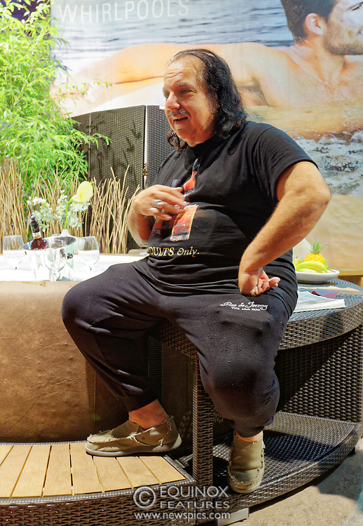 Berlin, Germany - 18 October 2012<br /> Porn star Ron Jeremy promoting his 'Ron Jeremy' brand of rum at the Venus Berlin 2012 adult industry exhibition in Berlin, Germany. Ron Jeremy, born Ronald Jeremy Hyatt, has been an American pornographic actor since 1979. He faces sexual assault allegations which he strenuously denies. There is no suggestion that any of the people in these pictures have made any such allegations.<br /> www.newspics.com/#!/contact<br /> (photo by: EQUINOXFEATURES.COM)<br /> Picture Data:<br /> Photographer: Equinox Features<br /> Copyright: ©2012 Equinox Licensing Ltd. +448700 780000<br /> Contact: Equinox Features<br /> Date Taken: 20121018<br /> Time Taken: 12051291