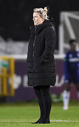 Tanya Oxtoby manager of Bristol City Women - Mandatory by-line: Ryan Hiscott/JMP - 13/01/2021 - FOOTBALL - Twerton Park - Bath, England - Bristol City Women v Aston Villa Women - FA Continental Cup quarter final