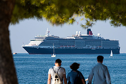 MS Queen Victoria, Vista-class cruise ship, at arrival to city Piran, on October 11, 2018 in Piran, Slovenia. Photo by Matic Klansek Velej / Sportida