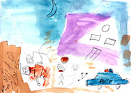 """""""Bad Day"""" by Milad, age 10, from Afghanistan"""