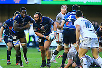 Mikheil NARIASHVILI - 20.12.2014 - Montpellier / Stade Toulousain - 13eme journee de Top 14 -<br /> Photo : Nicolas Guyonnet / Icon Sport