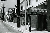1973 Sneaky Pete's Restaurant on Sunset Blvd.
