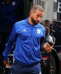 "Cardiff City's Jazz Richards arriving before the Premier League match at the Vitality Stadium, Bournemouth. PRESS ASSOCIATION Photo. Picture date: Saturday August 11, 2018. See PA story SOCCER Bournemouth. Photo credit should read: Mark Kerton/PA Wire. RESTRICTIONS: EDITORIAL USE ONLY No use with unauthorised audio, video, data, fixture lists, club/league logos or ""live"" services. Online in-match use limited to 120 images, no video emulation. No use in betting, games or single club/league/player publications."