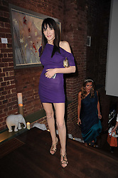 ANNABELLE NEILSON at a private view of Sacha Jafri's paintings entitled 'London to India' held in aid of The Elephant Family charity at 23 Macklin Street, Covent Garden, London on 3rd June 2010.