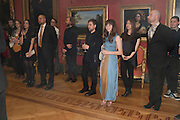 CHRISTOPHER DE VOS;; OPHELIA LOVIBOND;, Event hosted by the Dutch Ambasador celebrating the achievements of Dutch and Belgian art and fashion. Wallace Collection. London. 15 February 2011.  -DO NOT ARCHIVE-© Copyright Photograph by Dafydd Jones. 248 Clapham Rd. London SW9 0PZ. Tel 0207 820 0771. www.dafjones.com.