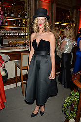 OLIVIA HUNT at the Tatle Magazine's Kings & Quens party held at Savini at Criterion, Piccadilly, London on 1st June 2016.