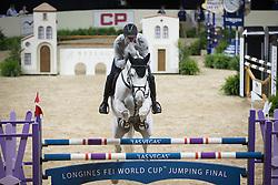Vrieling Jur, (NED), VDL Zirocco Blue <br /> Training session<br /> Longines FEI World Cup™ Jumping Finals <br /> Las Vegas 2015<br />  © Hippo Foto - Dirk Caremans<br /> 15/04/15