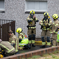 Strathtay Road Fire 22.07.20