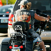 USA/Miami/20150806 - Miami, motorrijder