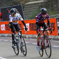 18-04-2021: Wielrennen: Amstel Gold Race women: Berg en Terblijt: Anna Shackley