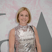 Mariella Frostrup arrives at V&A - summer party, on 19 June 2019, London, UK