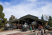 Travel Town, Griffith Park, Los Angeles, California, USA