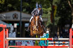ORSCHEL Cassandra (POL), Boomer<br /> Fundis Youngster Tour (CSIYH1*)<br /> 2. Qualifikation für 7jährige Pferde <br /> Springprüfung nach Fehlern und Zeit, international<br /> Höhe: 1,35m<br /> Paderborn - OWL Challenge 2020<br /> 12. September 2020<br /> © www.sportfotos-lafrentz.de/Stefan Lafrentz