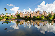 Containing over 2,000 stupas with origins dating back many centuries, Kakku is one of Asia's largest and most spectacular ancient monuments.  It is a testament to the religious devotion of the Pa-Oh, one of Myanmar's many ethnic minorities.