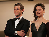 Gaspard Ulliel, Marion Cotillard at the gala screening for the film It's Only the End of the World (Juste La Fin Du Monde) at the 69th Cannes Film Festival, Thursday 19th  May 2016, Cannes, France. Photography: Doreen Kennedy