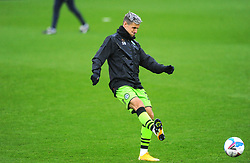Josh March of Forest Green Rovers warms up prior to kick-off- Mandatory by-line: Nizaam Jones/JMP - 03/10/2020 - FOOTBALL - the innocent [insert name here] stadium - Nailsworth, England - Forest Green Rovers v Walsall - Sky Bet League Two